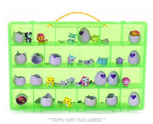 Life Made Better Mein Ei Kiste Aufbewahrung Organizer – kompatibel mit Hatchimals und Hatchimal Colleggtibles Marke – grün