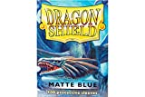 Dragon Shield Standard Sleeves (Matte Blue)