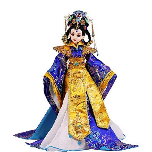 IIWOJ Niedliche chinesische Kostümmädchen Doll, Multi-Joint Handmade Ming Dynasty Court Prince, Girl Collection Gift