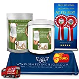 3 CONTOURING Bandage tums slimming inch loss body clay wrap CREAM spa kit approx1.5 ltrs - Bild 3