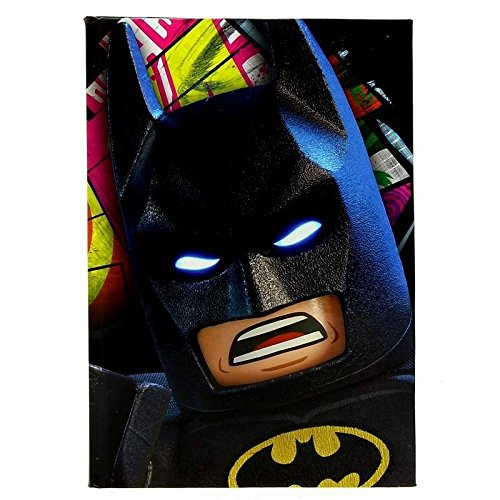 Lego - Diario Lego Batgirl con penna a inchiostro invisibile LEGO Batman, diario Light Up