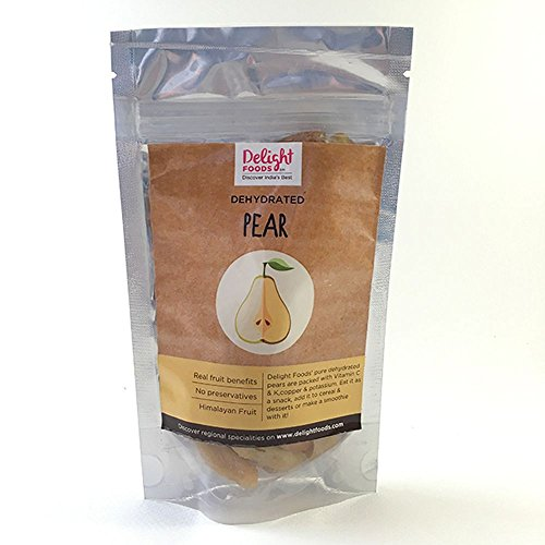 Delight Foods Dehydrated Pear (100gm)