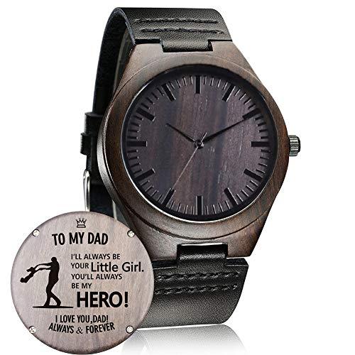 Reloj de Madera Grabado Personalizado