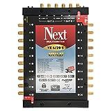 Multischalter - Next YE 6/20 s [PMSE 5/20 + Extra] mit Gold-Kontakten inkl. Netzteil Full HD, 4K tauglich