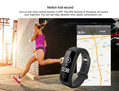 WEARFIT R8 Fitness Tracker : Sport Activity Tracker Smart Band with