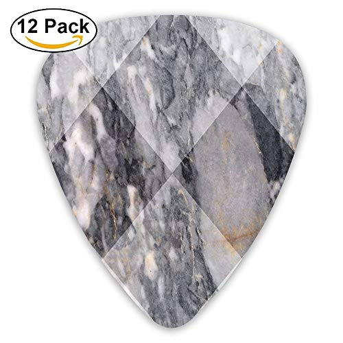 Geometric Diamond Shaped Grunge Granite Rock Facet Forms Ceramic Abstract Print Decorative 3 Piece Bedding Set With 2 Pillow Shams Light Grey 2 Guitar Picks 12/Pack Set Shams Rock