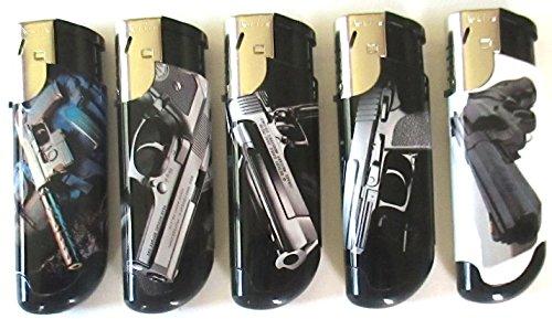 Al Capone, ricaricabile, fiamma accendini a torcia, confezione da 5