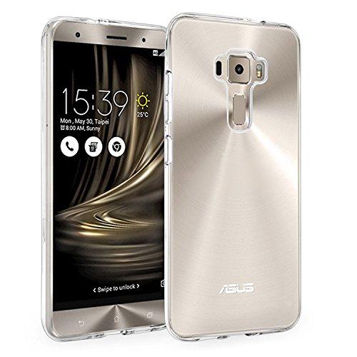 Zenfone 3 Ultra\ZU680KL(6.8) Hülle, [Thin Slim] VENTER®[Flexible] Raum-Gelee-TPU Hülle [Transparent] Premium-Auto Cover [Anti-Vergilbungs & Verfärbungs Finish] für ASUS Zenfone 3 Ultra\ZU680KL(6.8)