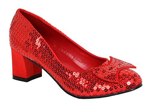 FUNTASMA DOR01/R/SEQ Escarpins Femmes Rouge/Sequins Rouge