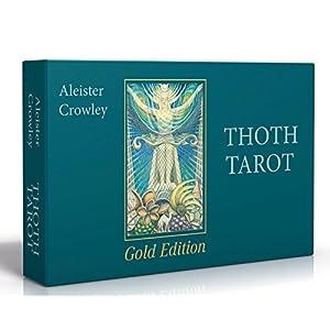 Aleister Crowley Thoth Tarot - Gold Edition (Deluxe Tarotkarten) (Gebundene Ausgabe)