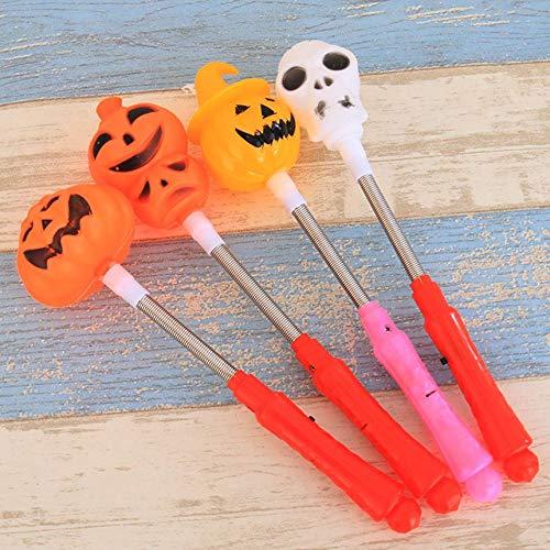 (Halloween glühenden Kürbis Skelett Hand Wippe Geisterfest bar ktv ganze Person glühende Spielzeug Halloween Atmosphäre spielen Halloween Kürbis Skelett Hand Wippe Geisterfest bar ktv glühen, die)