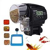 Distributeur Nourriture pour Poisson, poisson automatique / tortue distributeur alimentaire avec un anneau d'alimentation de...