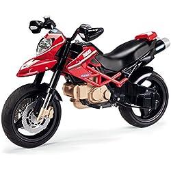 Peg Perego MC0015 - Motos Ducati Hypermotard 1100 Evo, 12 Volt