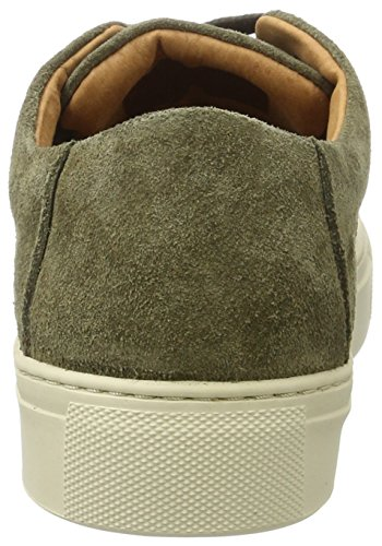 SELECTED FEMME Sfdonna Suede New Sneaker, Scarpe da Ginnastica Basse Donna Verde (Forest Night)