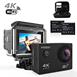 Action Kamera WIFI sports cam 4K camera 20MP Ultra Full HD Unterwasserkamera Helmkamera wasserdicht...