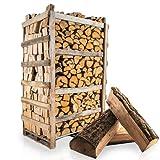 PALIGO Brennholz Kaminholz Feuerholz Grillholz Ofenholz Smokerholz Scheitholz Eichen Holz