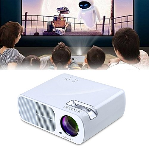 htfrgeds Beamer,2600 Lumen Videoprojektor, Full HD 5