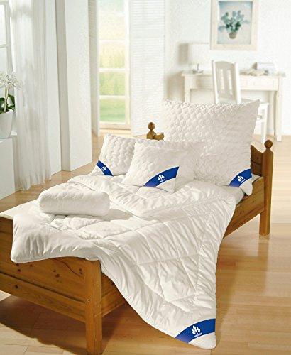 Badenia Bettcomfort Steppbett Irisette Merino wash leicht, 135 x 200 cm, weiß