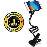 Rhobos Unique Flexible 360 Degree Snake Style Stand Long Lazy Stand Foldable Mobile Holder Stand Compatible With Xiaomi, Lenovo, Apple, Samsung, Sony, Oppo, Gionee, Vivo Smartphones (One Year Warranty)