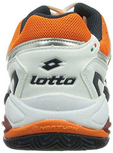 Lotto Sport Vector Vi, Baskets de tennis homme Multicolore - Mehrfarbig (WHITE/SAMBA)