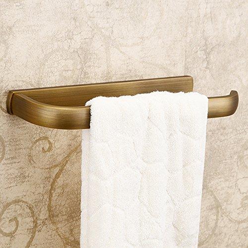 weare Home Fácil Vintage Retro Bronce cuarto de baño accesorios Anillo toallero de pared Lunes extra fuerte taladrar