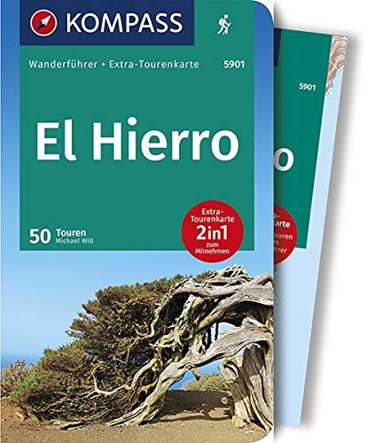El Hierro: Wanderführer mit Extra-Tourenkarte, 50 Touren, GPX-Daten zum Download. (KOMPASS-Wanderführer, Band 5901)