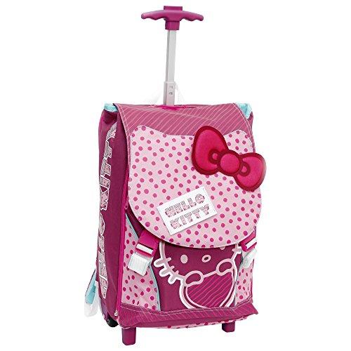 Giochi Preziosi - Hello Kitty Zaino/Trolley Scuola, Estensibile