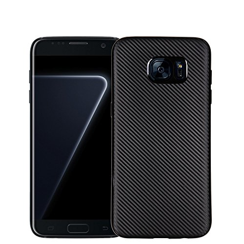 Samsung-Galaxy-S7-Edge-case-CELKASE-Thin-Light-Unique-Carbon-Fiber-Texture-with-Durable-Soft-TPU-Shock-Absorbing-Bumper-Scratch-Resistant-Non-Slip-Back-Cover-Case-for-Galaxy-S7-Edge-case