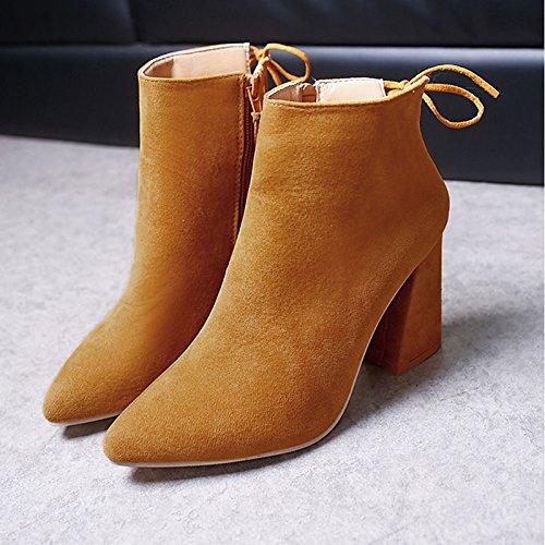 WIKAI Donna pantofole e flip-flops Comfort estivo PU Casual Chunky HeelBlack a piedi bianco,nero,US5.5 / EU36 / UK3.5 / CN35 Black