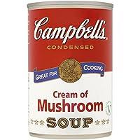 Campbell Sopa Crema de Champiñones 295g
