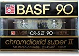 BASF CR-S II 90 min CHROMDIOXID SUPER II 1985-1987 OVP Germany Audiokassette