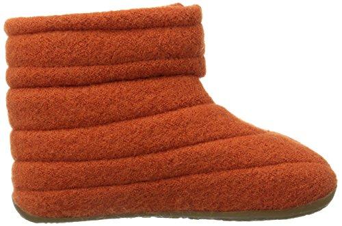 Haflinger Everest Taiga Unisex - Kinder Hohe Hausschuhe Orange (rost / 43)