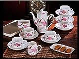 Bone China Kaffeetasse Bone China Kaffeemaschine Mit 15 Stück Praktische Inneneinrichtungsgegenstände Nachmittags Kaffee Setzen