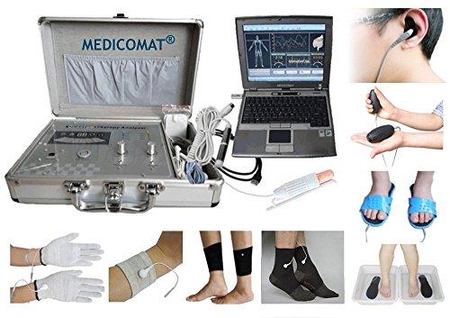 Akupunktur-maschine (Arme Beine und Gelenke Schmerzbehandlung Medicomat-291O Electro-Akupunktur-Maschine Whole Health Analysis * Größe: M - Mittel Socken Handschuh)