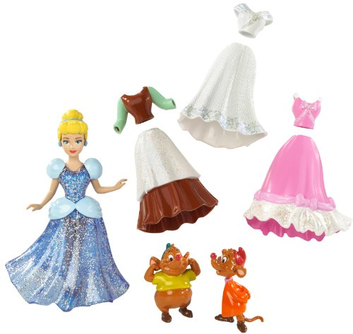 Disney Princess Cinderella Favourite Moments Pocket Fashion Doll (with Accessories and Carry Bag)