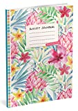 Bullet Journal: Punktraster Notizbuch (Ca. A5) + 100 Seiten + Vintage Softcover | TOP Motiv: Aquarell | Dotted Grid Notebook, Kaligrafie Papier, Punktpapier +++ Jetzt mit Register +++