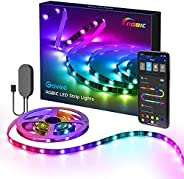 Govee RGBIC TV LED Backlight, LED Lights for TV with APP Control, Music Sync, Scene Modes, 6.56FT RGBIC Color