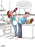 Greeting Card (PH3723) Humour Birthday - Reduce The Wine - Couple Cooking