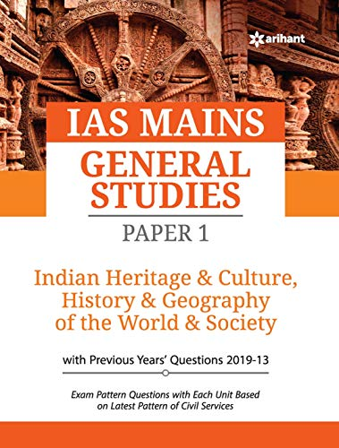 IAS Mains Paper 1 Indian Heritage & Culture History & Geography of the world & Society 2020