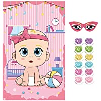 """LOKIPA """"Pin The Dummy"""" on The Baby Game Baby Shower Party Favors and Game"""