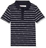 RED WAGON Jungen Poloshirt mit Anker-Muster, Blau (Blue 19-3924 TCX), 110 (Herstellergröße: 5)