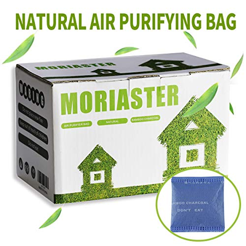Depuratore Naturale Deodoranti in Carbone di Bambù / Filtri in Carbone di Bambù Deodorante per Scarpe ed Eliminatore di Odori Set da 20