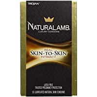 Naturalamb Natural Skin Condoms, Lubricated, 10 condoms (Pack of 2) by Naturalamb preisvergleich bei billige-tabletten.eu