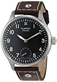 Dugena Mechanik Herren-Armbanduhr Epsilon 5 Flieger - Handaufzug Analog Handaufzug Leder 7000059
