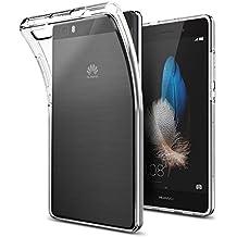 Funda Huawei P8 Lite, Spigen [Liquid Crystal] Silicona Transparente Buena Calidad [Crystal Clear] Premium Transparente / Perfecto adecuado, Carcasa funda para P8 Lite - Case (L04CS20584)