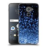 Head Case Designs Offizielle Monika Strigel Schwarz Blau Magische Lichter Ruckseite Hülle für BlackBerry DTEK60