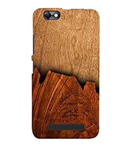 ifasho Designer Back Case Cover for Lenovo Vibe C :: Lenovo A2020 (Games Espn Wood Varnish)