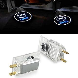 ZNYSTAR Einstiegsbeleuchtung Tür Lampe Türbeleuchtung Ghost Shadow Logo Autotür Logo 1 Paar