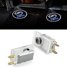 Znystar 2pcs Car LED Proyector de la lámpara de la puerta Ghost Shadow Bienvenida Luz Kit