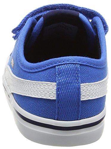 PumaElsu V2 Cv V Inf - Scarpe da Ginnastica Basse Unisex – Bambini Blu (Peacoat-puma White 10)
